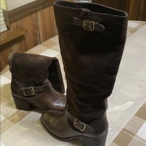 Suede Jessica Simpson boots.